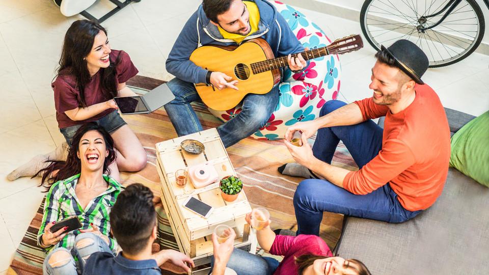 סטודנטים, לימודי מוזיקה (צילום: DisobeyArt, shutterstock)