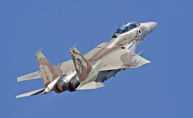 """מטוס הקרב (צילום: דובר צה""""ל)"""