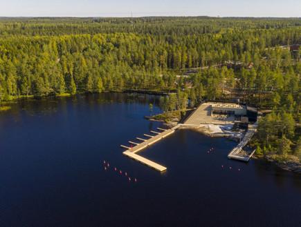 עוד סיבה לבקר בפינלנד: המרכז החדש במדינה המאושרת בעולם