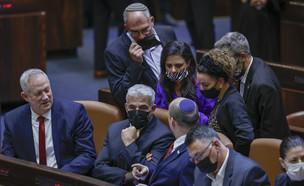 חוק האזרחות במליאת הכנסת (צילום: פלאש 90)