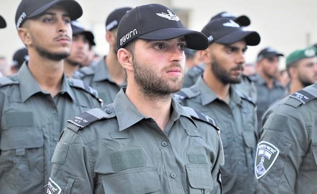 הלוחם (צילום: דוברות משטרת ישראל)