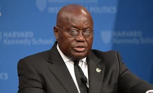 נשיא גאנה ננה אקופו אדו  (צילום: Paul Marotta, GettyImages)