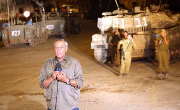 רוני דניאל בגבול הצפון במלחמת לבנון השנייה (צילום: אריאל ירוזולימסקי)