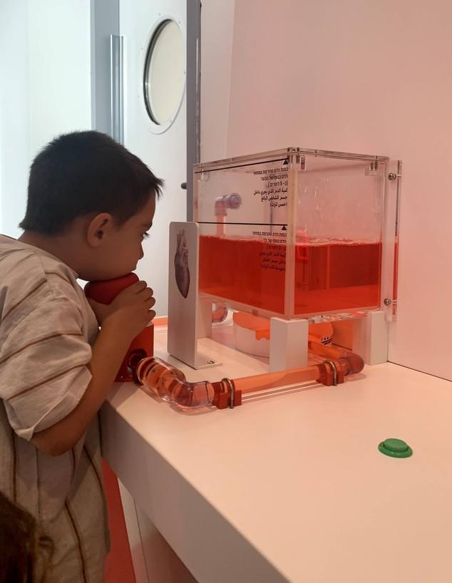 מוזיאון הרפואה הראשון לילדים (צילום: רעות עוזיאל)