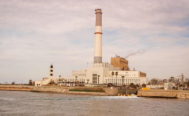 תחנת הכוח רידינג (צילום: גרשון אלינסון, פלאש 90)
