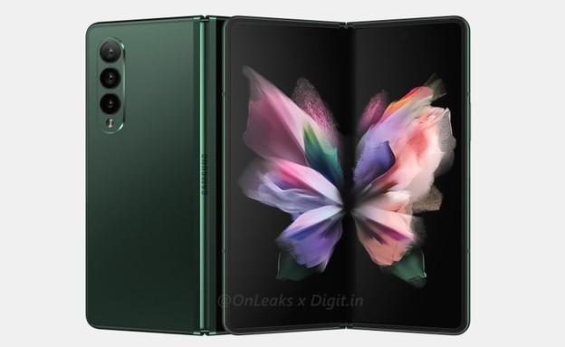 Galaxy Z Fold 3 (צילום: onleaks)