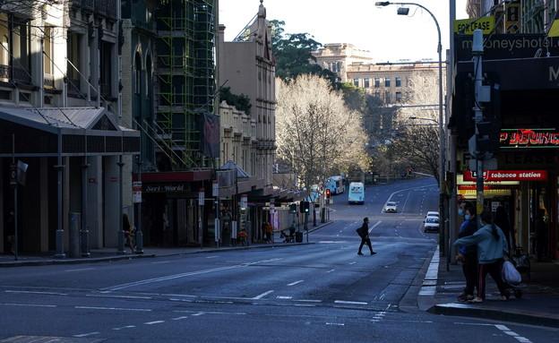 סגר בסידני, אוסטרליה (צילום: רויטרס)