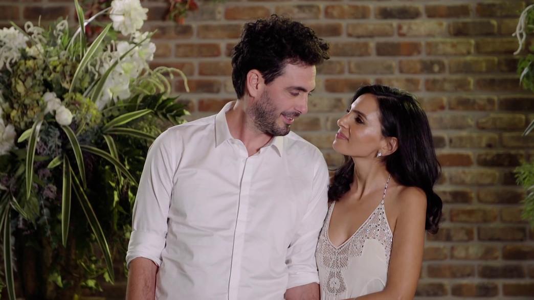 שני ודני (צילום: חתונה ממבט ראשון, קשת 12)