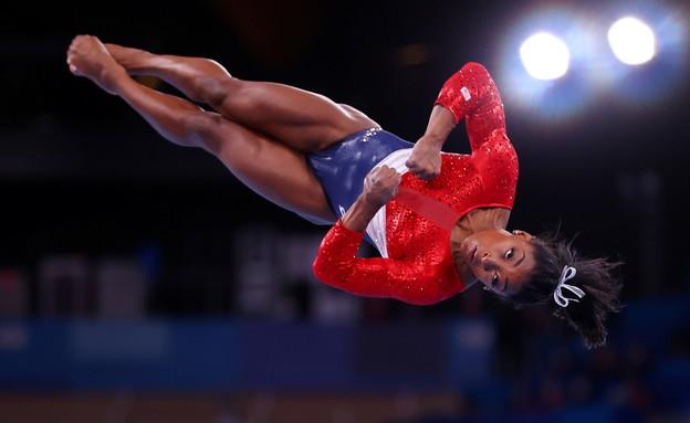 סימון ביילס כוכבת ההתעמלות האמריקאית, נפצעה  (צילום: Reuters)