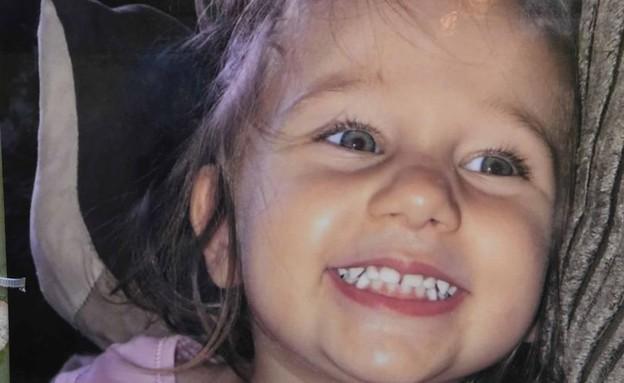 בת ה-3 שהוכתה למוות (צילום: @DailyMirror\twitter)
