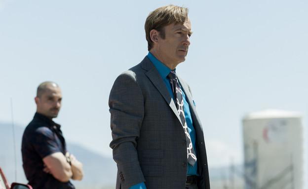 """בוב אודנקירק, מתוך """"סמוך על סול"""" (צילום: Greg Lewis/AMC/Sony Pictures Television באדיבות yes, יחסי ציבור)"""