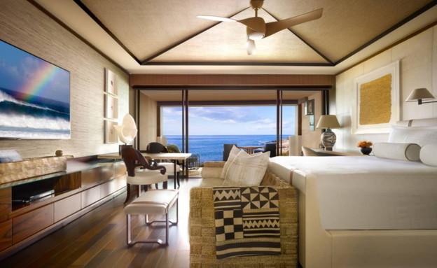 מוצרי יוקרה קאוה גרופ - מלון four seasons lamai hawai  זוג לילה הח