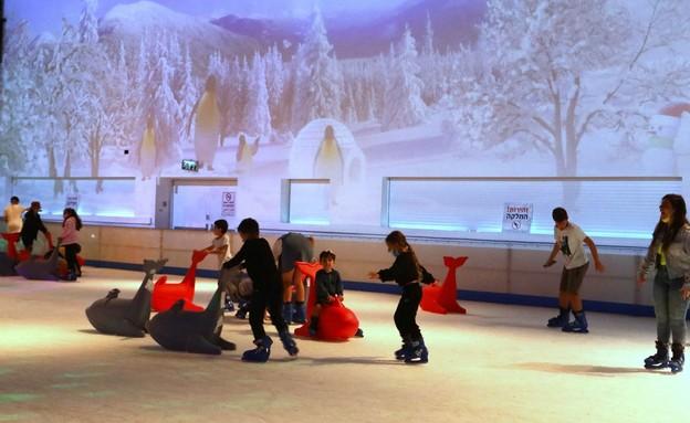 """פארק השלג (צילום: סיון פרג', יח""""צ)"""