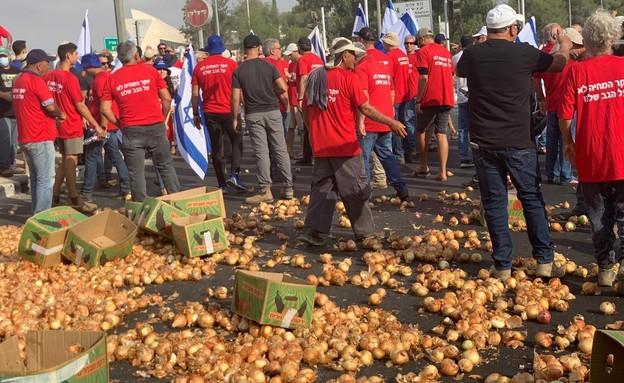 הפגנות חקלאים נגד הרפורמה של ליברמן
