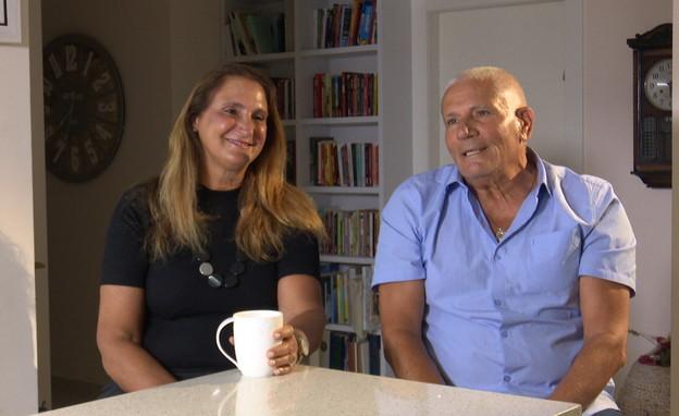 שמעון ואילנה כספי, ההורים של עומרי כספי (צילום: חדשות 12)