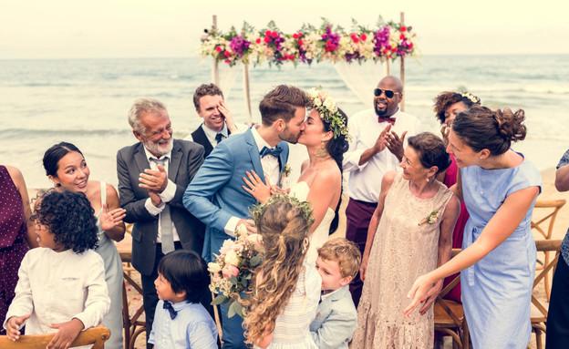 חתונה (צילום: shutterstock by Rawpixel.com)