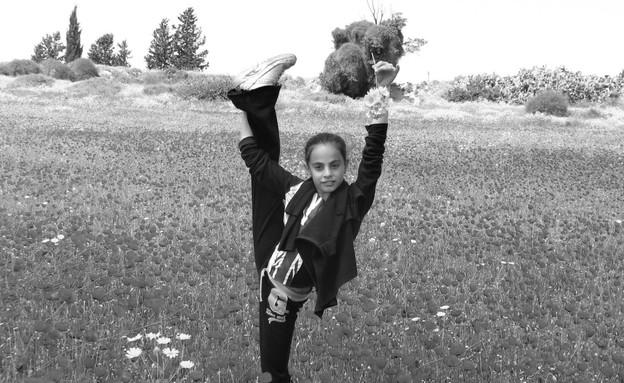 לינוי אשרם כילדה (צילום: באדיבות המשפחה)