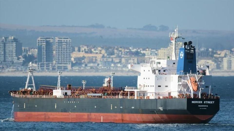 ספינה שהותקפה סמוך לעומאן (צילום: Johan Victor ,  marinetraffic.com)