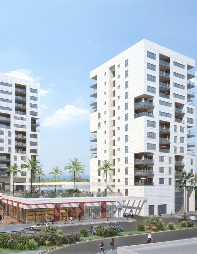 """דירה נתניה (שרטוט: א. פריאון אדריכלים ומתכנני ערים בע""""מ)"""
