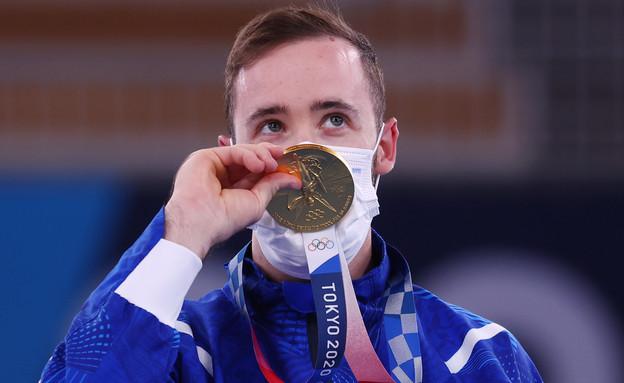 ארטיום דולגופיאט, זכה במדליית זהב באולימפיאדה (צילום: reuters)