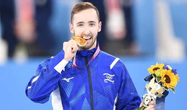ארטיום דולגופיאט, זכה במדליית זהב באולימפיאדה (צילום: עמית שיסל, הוועד האולימפי בישראל)
