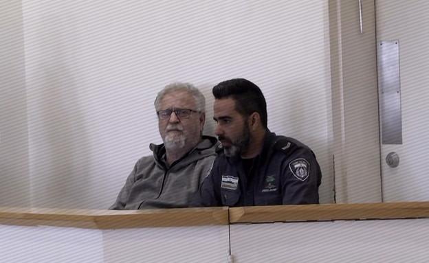 """ד""""ר גיורא פראף-פרי, רצח את בת זוגתו אסתר אהרונוביץ (צילום: החדשות 12)"""