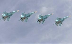 מטוס הקרב (צילום: RIA Novosti via Getty Images)