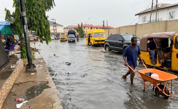 שיטפונות בלגוס, ניגריה (צילום: רויטרס)