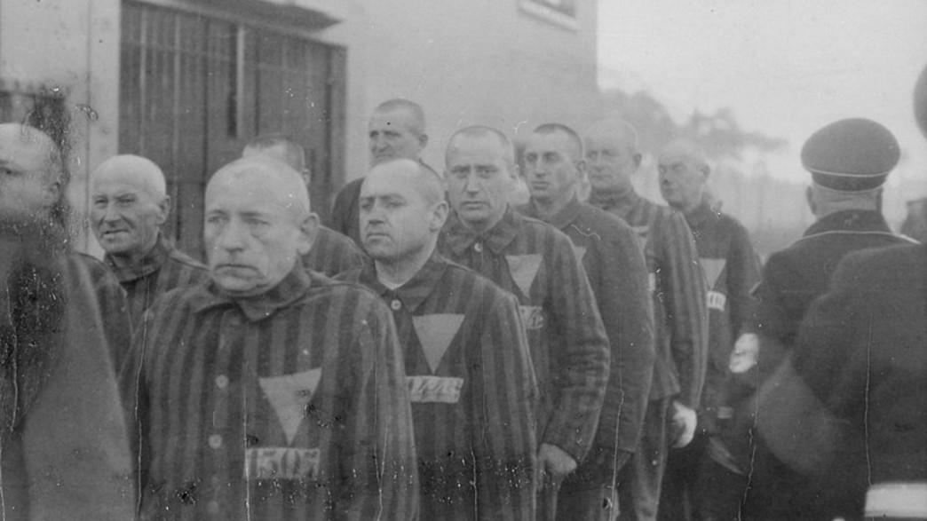 אסירים במחנה זקסנהאוזן,