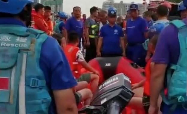 משפיעני רשת גנבו ספינה בשיטפונות במחוז חנאן