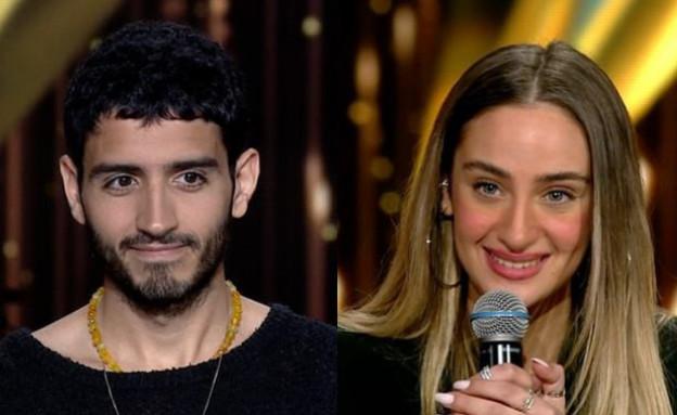 ואלרי חמאתי ותמיר גרינברג (צילום: הכוכב הבא, קשת 12)