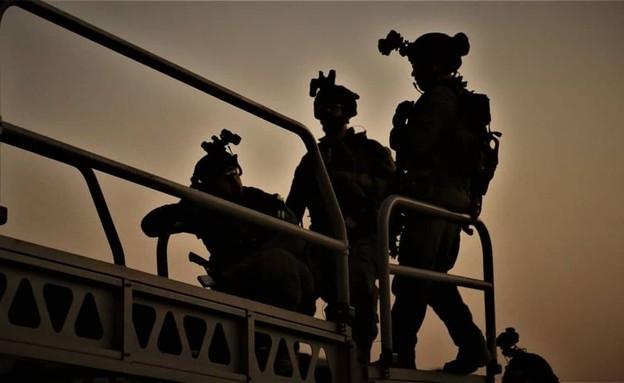 """כוחות ימ""""מ, אילוסטרציה (צילום: דוברות המשטרה)"""