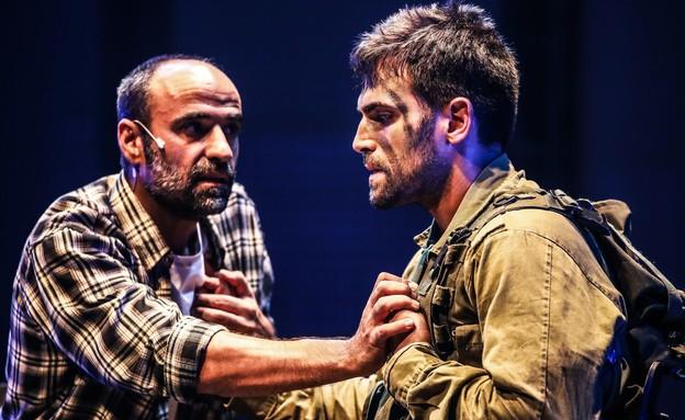 """ההצגה """"קב""""ן"""" בתיאטרון הבימה (צילום: אור דנון, יח""""צ)"""