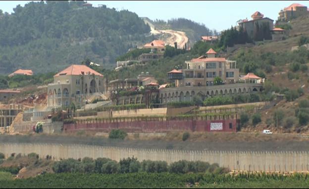 ביתו של נביל קאוק (צילום: חדשות 12)