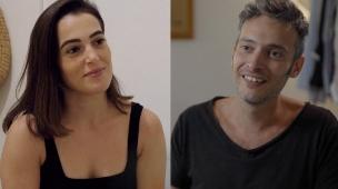 ניצן שיק ועמנואל כהן (צילום: מתוך חתונה ממבט ראשון , קשת 12)