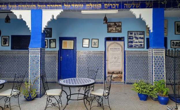 בית כנסת אלעזמה במרקש (צילום: עדי אחרק)