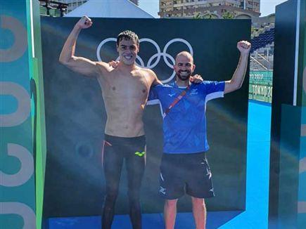 הישג עצום (צילום: באדיבות הוועד האולימפי בישראל) (צילום: ספורט 5)