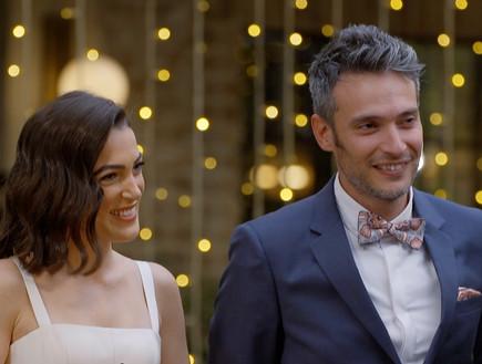 """ניצן ועמנואל (צילום: מתוך """"חתונה ממבט ראשון"""", קשת 12)"""