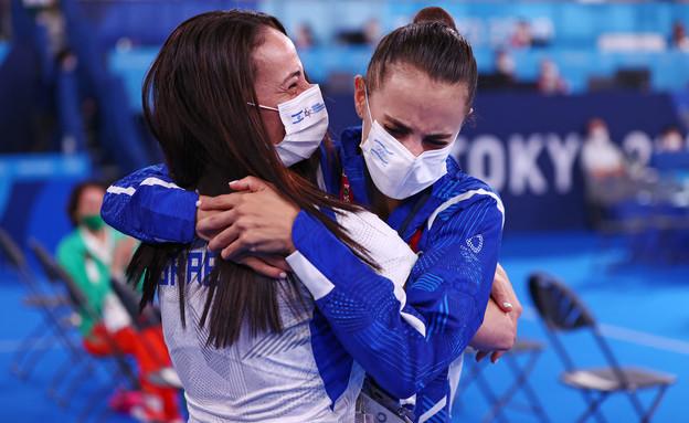 לינוי אשרם זוכה במדליית זהב (צילום: רויטרס)