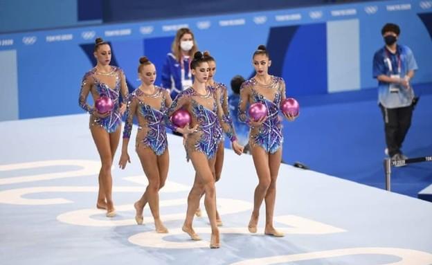 נבחרת ההתעמלות האומנותית פותחת את דרכה במוקדמות (צילום: עמית שיסל, הוועד האולימפי)