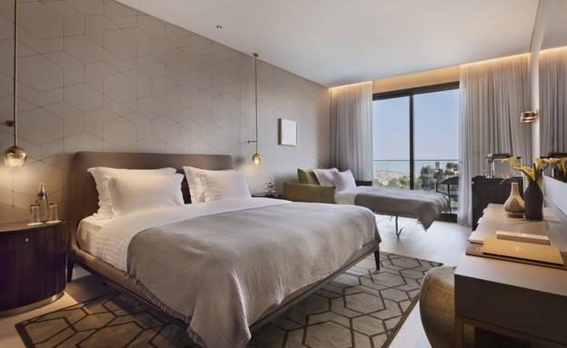 מלון ענבל חדר חדש (צילום: אסף פינצ'וק)