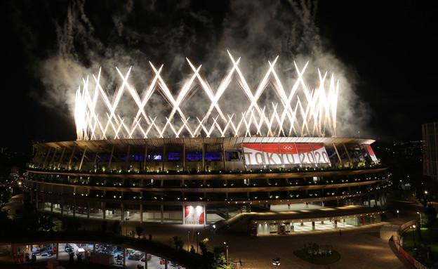 טקס סיום אולימפיאדת טוקיו 2020 (צילום: רויטרס)