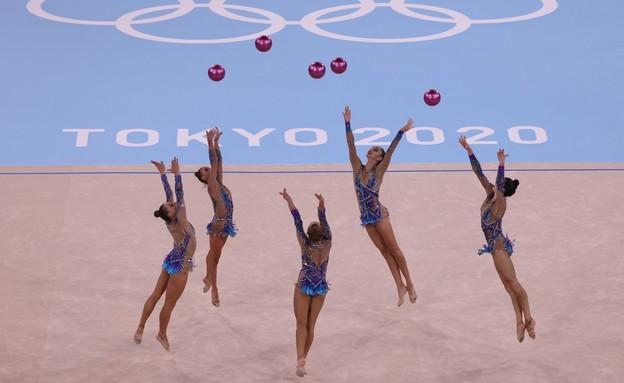 נבחרת ישראל בהתעמלות אמנותית  (צילום: רויטרס)