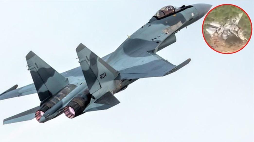 מטוס הקרב (צילום: Fasttailwind\Telegram, Shutterstock)