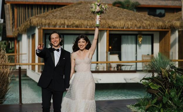לי בירן ואליאנה תדהר מתחתנים (צילום: עידן חסון, יחסי ציבור)