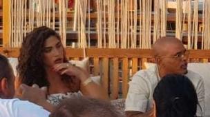 אייל גולן ודניאל גרינברג באירוע בצל המשבר (צילום: פרטי)