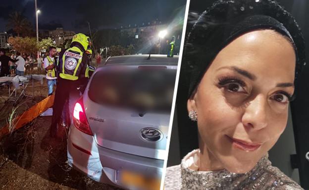 האישה שנפגעה בבית ים, וזירת הירי