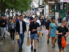 לונדון נפתחת - יולי 2021 (צילום: Hollie Adams, getty images)