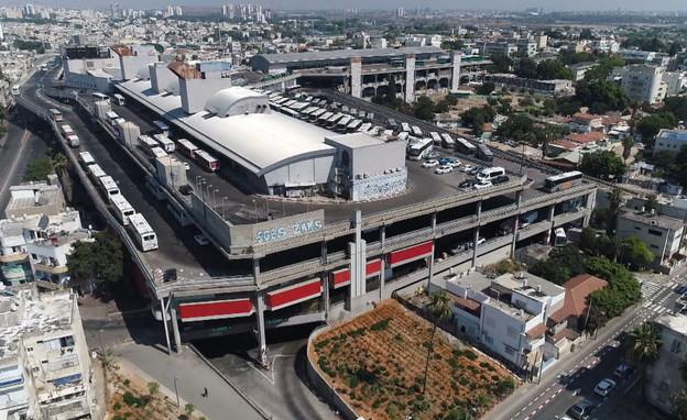 תחנה מרכזית תל אביב (צילום: חדשות 12)