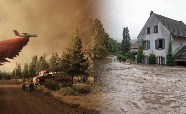 משבר האקלים בעולם (צילום: reuters, ap)